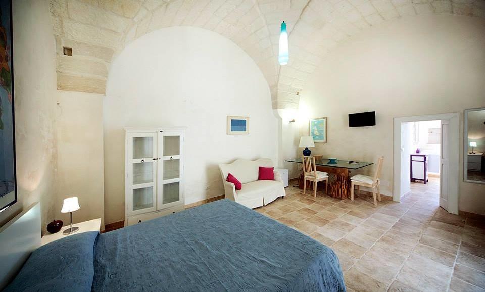 The Star Suite Venini Lamp at charming B&B La Tana del Riccio in Salento