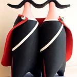 I Carabinieri dell'artista salentino