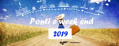 B&B Offerte settimane week end Ponti 2019